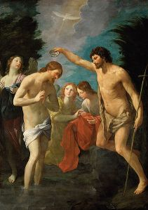 Guido Reni, Baptism of Christ 1622