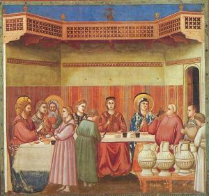 Giotto Scrovegni Marriage at Cana