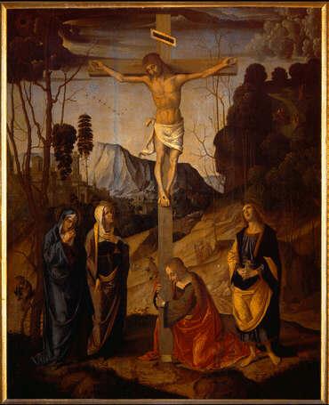 Marco Palmezzano, the Crucifixion 1480s-1490s