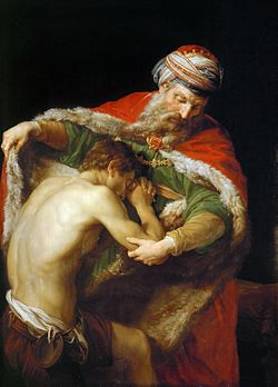 The Return of the Prodigal Son (1773) by Pompeo Batoni