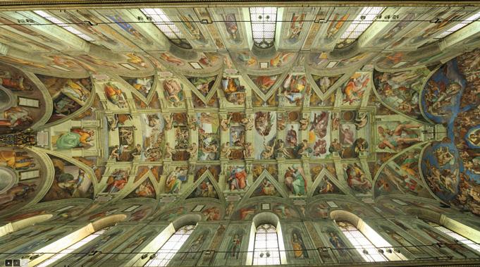 Virtual Tour of the Sistine Chapel