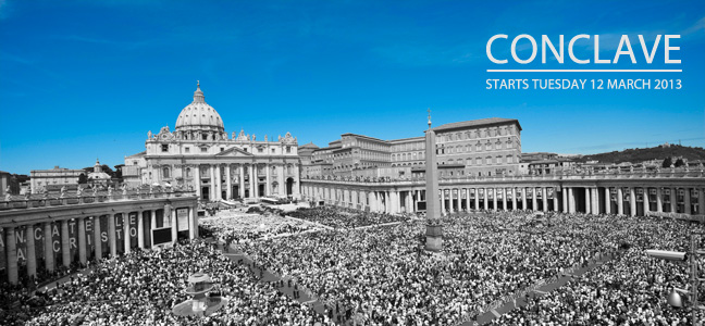 St Peters Square pre-conclave