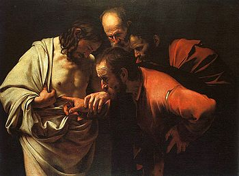 The Incredulity of Saint Thomas, Caravaggio