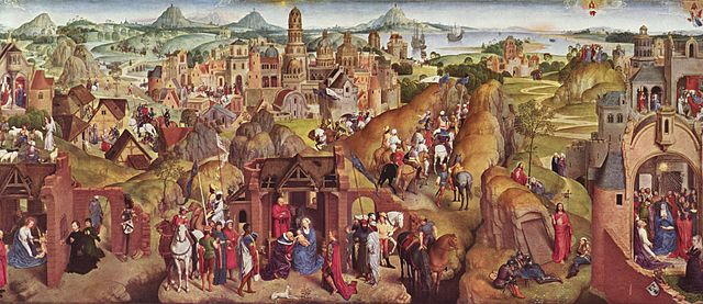 Advent and Triumph of Christ (c.1480) Hans Memling
