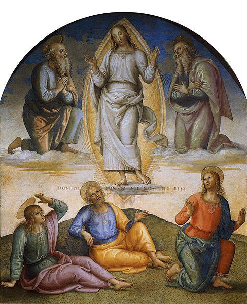 Pietro Perugino: Collegio del Cambio (Trasfigurazione) 1496-1500