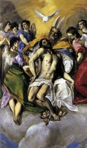The Holy Trinity, El Greco