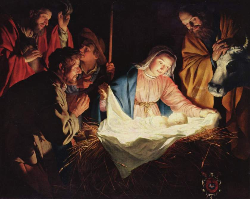 Gerard van Honthorst Adoration of the Shepherds