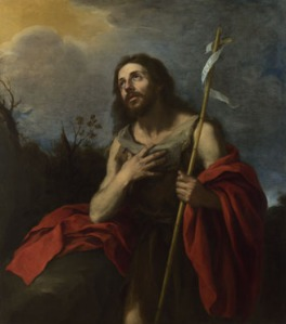 Saint John the Baptist in the Wilderness 1660-70, Probably by Bartolomé Esteban Murillo