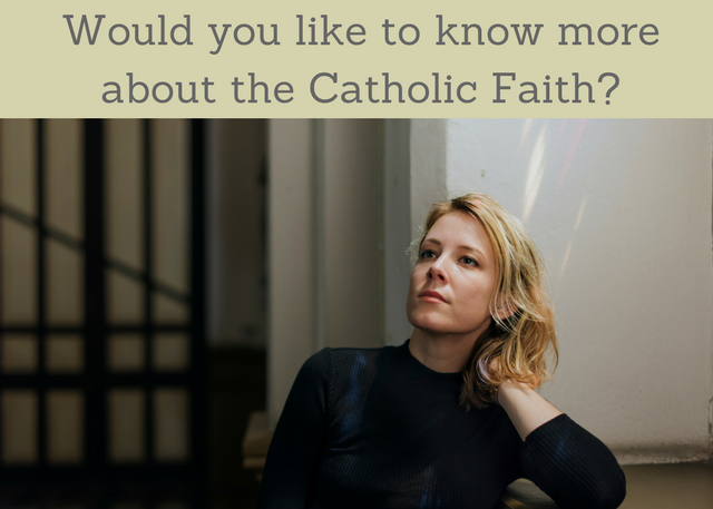Thinking about the Catholic Faith-3